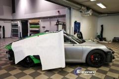 Porsche 911 Helfoliert med print folie.--6