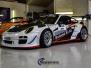 Porsche GT1 foliert med racing dekor vi laget ett ekslusivt sport design av Porsche- til brobekk bil