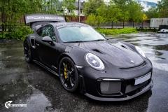 Porsche GT2 RS helfoliert med lakkbeskyttelsesfilm fra STEK (7 из 7)