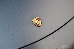 Porsche helfoliert i Satin Dark Grey fra 3M-3