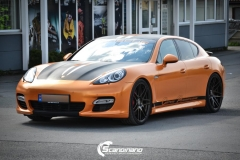 Porsche panamera foliert i orange Scandinano_-2