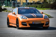 Porsche panamera foliert i orange Scandinano_-5 — копия