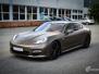 Porsche Panamera helfoliert med Matt Frozen Bronze fra Platinum Wrapping Film