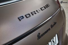 Porsche Panamera helfoliert med Matt Frozen Bronze fra Platinum Wrapping Film (10 из 20)