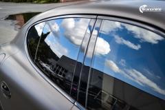 Porsche Panamera helfoliert med Matt Frozen Bronze fra Platinum Wrapping Film (19 из 20)