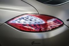 Porsche Panamera helfoliert med Matt Frozen Bronze fra Platinum Wrapping Film (9 из 20)