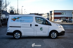 Profilering av Nissan NV200 for Nor Tekstil Avd. Drammen-