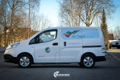 Profilering av Nissan NV200 for Nor Tekstil Avd. Drammen-4