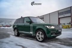 Range Rover helfoliert i Gloss Sapphire Metallic fra 3M
