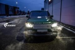 Range Rover helfoliert i Gloss Sapphire Metallic fra 3M-2