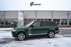 Range Rover helfoliert i Gloss Sapphire Metallic fra 3M-3