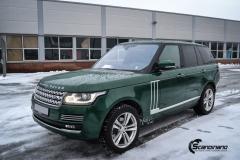 Range Rover helfoliert i Gloss Sapphire Metallic fra 3M-4