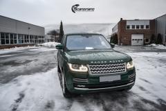 Range Rover helfoliert i Gloss Sapphire Metallic fra 3M-5