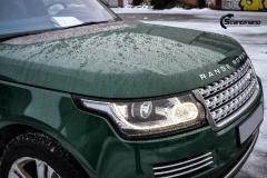 Range Rover helfoliert i Gloss Sapphire Metallic fra 3M-7