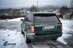 Range Rover helfoliert i Gloss Sapphire Metallic fra 3M-8