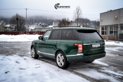 Range Rover helfoliert i Gloss Sapphire Metallic fra 3M-9