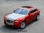 Rolls Royce foliering red