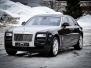 Rolls Royce ghost foliert black