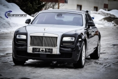 rolls royce ghost foliert black  Scandinano_-2