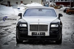 rolls royce ghost foliert black  Scandinano_-8