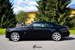 Rolls-Royce Wraith helfoliert med lakkbeskyttelsesfilm fra STEK-10