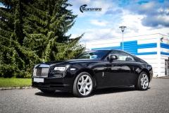 Rolls-Royce Wraith helfoliert med lakkbeskyttelsesfilm fra STEK-11