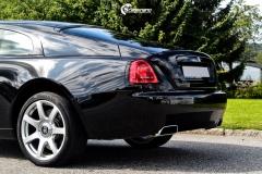 Rolls-Royce Wraith helfoliert med lakkbeskyttelsesfilm fra STEK-12