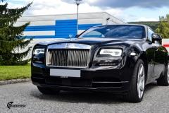 Rolls-Royce Wraith helfoliert med lakkbeskyttelsesfilm fra STEK-18