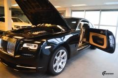 Rolls-Royce Wraith helfoliert med lakkbeskyttelsesfilm fra STEK-2
