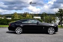 Rolls-Royce Wraith helfoliert med lakkbeskyttelsesfilm fra STEK-7