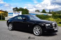 Rolls-Royce Wraith helfoliert med lakkbeskyttelsesfilm fra STEK-8