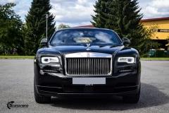 Rolls-Royce Wraith helfoliert med lakkbeskyttelsesfilm fra STEK-9