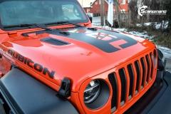 Sort matt klistremerker til Jeep® Wrangler RSA BIL Drammen-5