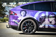 Tesla Model X custom design Chrome print_-4