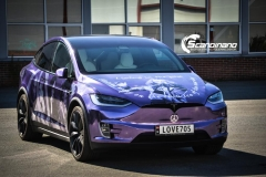 Tesla Model X custom design Chrome print_-8