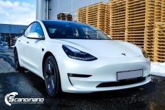 Tesla Model 3 foliert med lakkbeskyttelsesfilm-2
