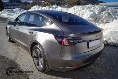 Tesla Model 3 foliert med Satin Dark Grey fra 3M_-11