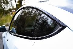 Tesla Model 3 helfoliert i Matt lakkbeskyttelsesfilm fra STEK (10 из 15)