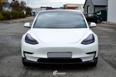 Tesla Model 3 helfoliert i Matt lakkbeskyttelsesfilm fra STEK (2 из 15)
