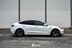 Tesla Model 3 helfoliert i Matt lakkbeskyttelsesfilm fra STEK (4 из 15)