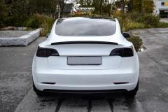 Tesla Model 3 helfoliert i Matt lakkbeskyttelsesfilm fra STEK (6 из 15)