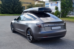 Tesla Model 3 helfoliert i Satin Dark Grey fra 3M-10