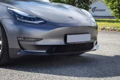 Tesla Model 3 helfoliert i Satin Dark Grey fra 3M-2