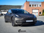 Tesla Model 3 Helfoliert i Shadow Black Fra 3M, Solfilm B - Stolpe 20%, Chrome delete