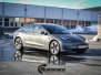 Tesla model 3 helfoliert med 3M Matt Dark Grey