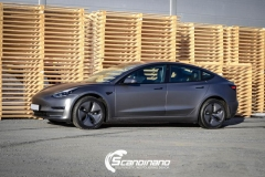 Tesla model 3 helfoliert med 3M Matt Dark Grey_-13