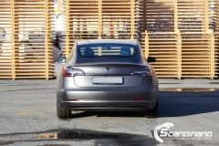 Tesla model 3 helfoliert med 3M Matt Dark Grey_-17