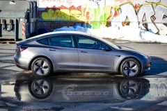 Tesla model 3 helfoliert med 3M Matt Dark Grey_-4