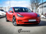 Tesla Model 3 helfoliert med Dragon Fire Red fra 3M, Chrome delete