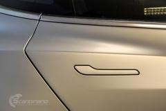 Tesla Model 3 helfoliert med Satin Silver Metallic fra 3M-5